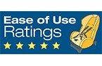 NHTSA Ease of Use - 5 Stars
